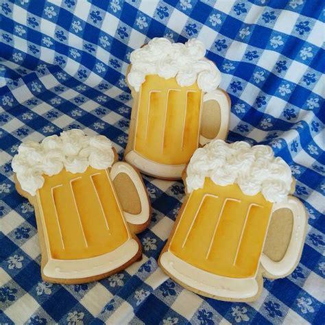 images  beer mug cookies  pinterest beer