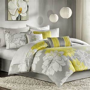 Popular Grey And Yellow Bedroom Incredible Homes Ideas