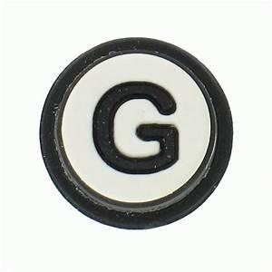 Jibbitz alphabet letter g jibbitz from jelly egg uk for Croc jibbitz letters