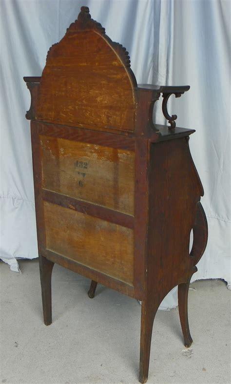 bargain johns antiques oak ladies secretary desk