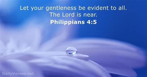 bible verses  gentleness dailyversesnet