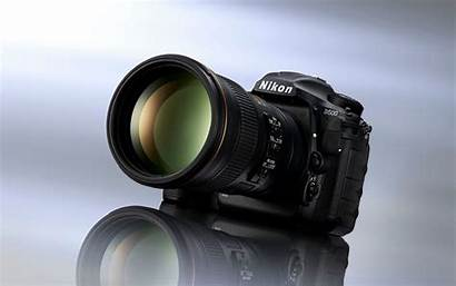 Dslr Nikon Camera D500 4k Lens Digital