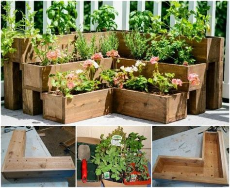 Raised Herb Garden Planter Ideas Quick Video Instructions