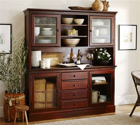Buffets With Hutch - tucker buffet hutch pottery barn