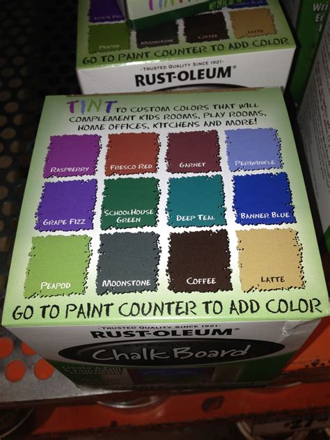 chalkboard paint colors my style