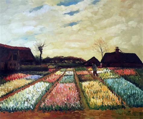 gogh quot bulb fields 1883 quot painting farmhouse