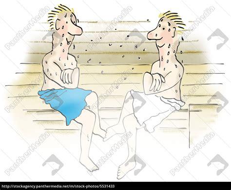 Zwei Mann Sauna zwei m 228 nner in der sauna stockfoto 5531433