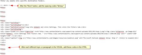 Tab Space In Html Example