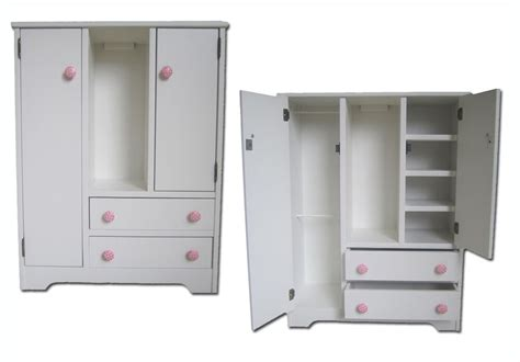 American Armoire Plans by Doll Wardrobe American Made Fits 18 Quot Doll Furniture