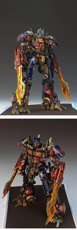 Optimus Prime Transformers Rotf Many Redbrick Gundam