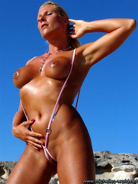 Michelles World Michellesworld Model Majority Bikini Model