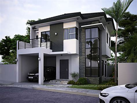 modern zen house design cm builders
