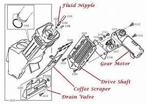 Capresso Burr Grinder Parts Diagram