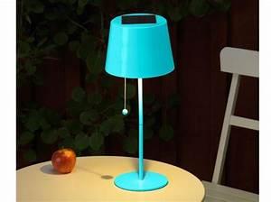 Lampe De Table Exterieur : eclairage table de jardin elle d coration ~ Teatrodelosmanantiales.com Idées de Décoration