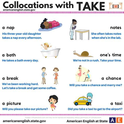 Do You Want To Take A Break From Work? Take Your Time And Read Today's #americanenglish Graphic