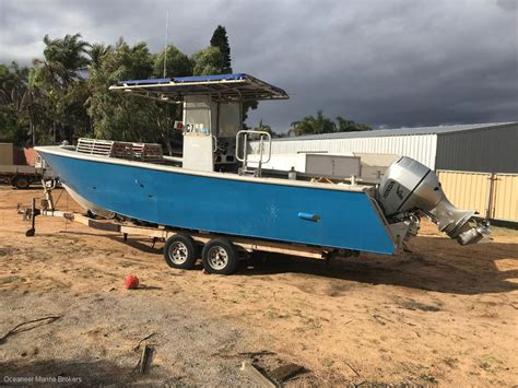 Fishing Boats For Sale Under 8 Meters by 7 8m Ocean Pearl Centre Console Price Reduced Commercial