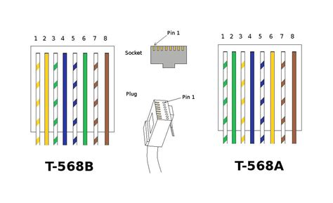 Cat5 B Wiring Diagram by Cat5e Wiring Diagram Australia Cable A Cat 5 Connectors
