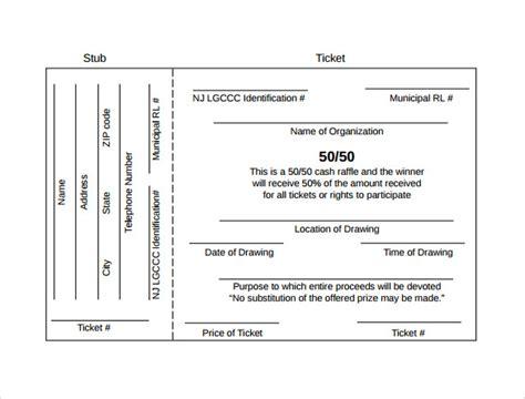 raffle ticket printing template 23 raffle ticket templates pdf psd word indesign illustrator sle templates