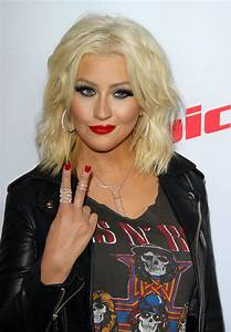 Christina Aguilera - Arrives for NBC's 'The Voice' Season ...