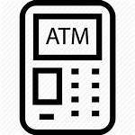 Icon Atm Machine Withdraw Cash Bank Money