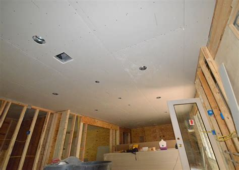 hanging drywall day 2 ceilings r us leonhouse