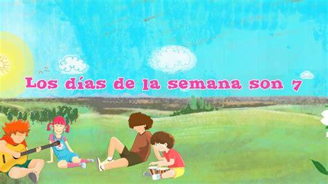 days   week  spanish los dias de la semana en