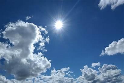 Cielo Sol Siang Hari Matahari Awan Nuvole
