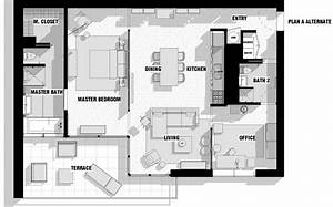 City apartment floor plan couples interior design ideas for Floor plans of modern apartments