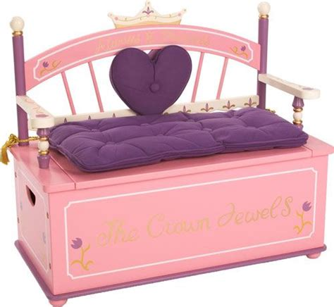 Levels Discovery Princess Toy Box Bench
