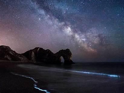 Door Durdle Milky Way Widescreen Wallpapers