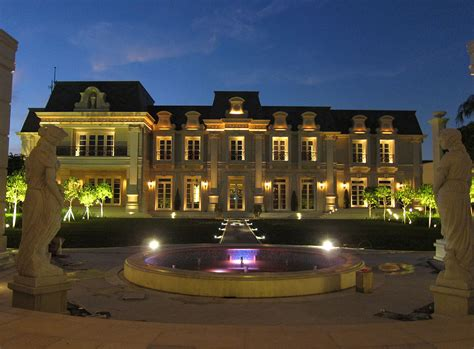 stunning french chateau inspired mega mansion