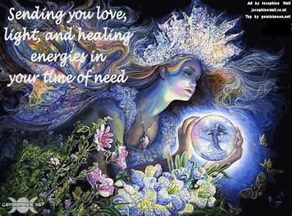 Healing Energy Sending Thoughts Fantasy Send Wall