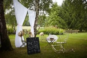 Decor Photobooth Mariage : photo booth mariage champ tre wedding mariage champ tre polaroid photo invit s rideau ~ Melissatoandfro.com Idées de Décoration