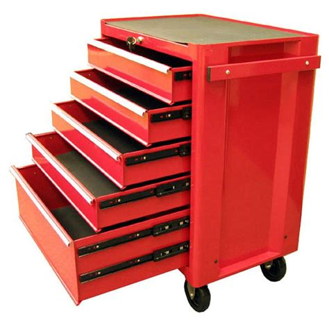 roller cabinet tool box excel 27 in 5 drawer steel roller cabinet tool chest in
