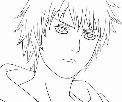 Coloring Pages Naruto Sasori Away Spirited Suigetsu