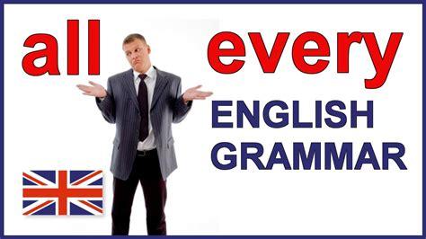 English Grammar lesson and English grammar exercises | All ...