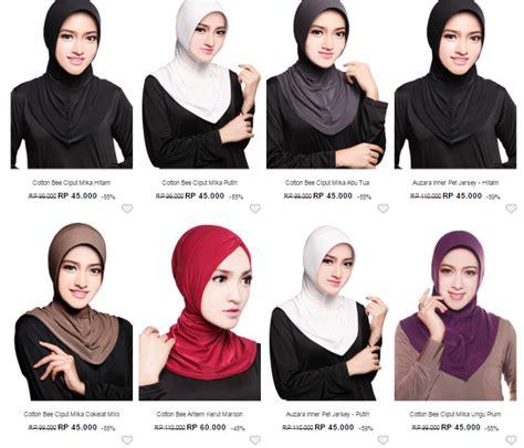 belanja hijab lengkap  harga hemat kidung kinanthi