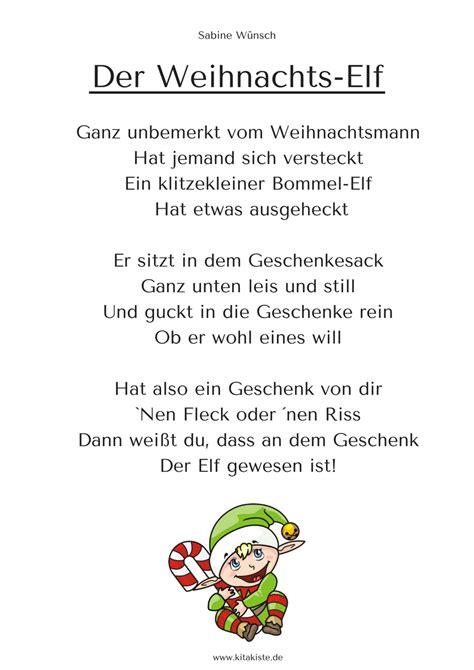 Süsses Weihnachtsgedicht Download Auf Wwwkitakiste