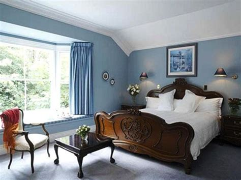 bedroom color schemes  blue carpet bedrooms warm