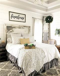 45, Simple, Rustic, Farmhouse, Bedroom, Decorating, Ideas, To