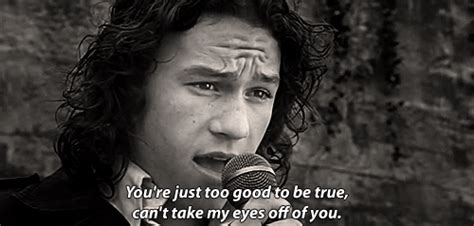 Can't Take My Eyes Off Of You Heath Ledger