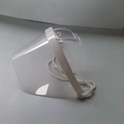 transparent plastic sanitary surgical clear face mask