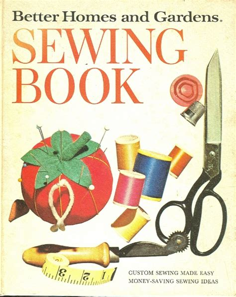 better homes and garden sewing book from 1970