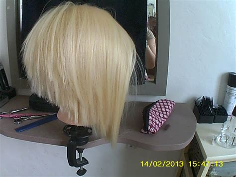 tuto coupe femme coiffure carre plongeant youtube