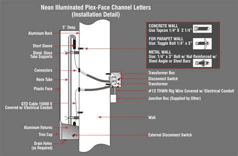 front lit channel letter signs front lit channel letters