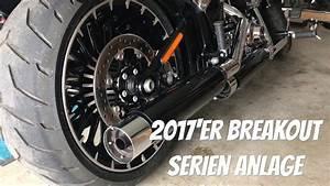 Harley Davidson Auspuff : harley davidson breakout 2017 kesstech auspuff anlage esm ~ Jslefanu.com Haus und Dekorationen