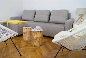 Couch Von Milben Befreien : wie mache ich diy baumstamm couchtische yellowgirl der diy und lifestyle blog ~ Indierocktalk.com Haus und Dekorationen