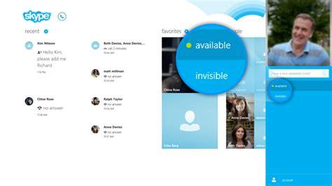 comment afficher skype sur le bureau windows 8