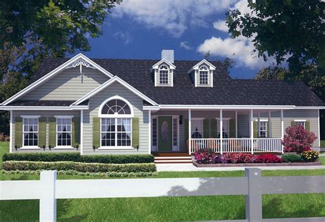 country style house plans with wrap around porches one ranch plans wrap around porch and garage