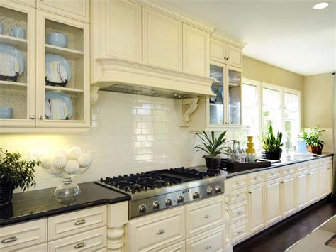 kitchen with tile backsplash white subway tile kitchen ifresh design 6553